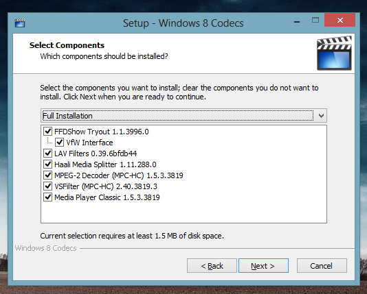 telecharger codec divx windows media player