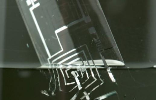 L'électronique transitoire se dissout seule