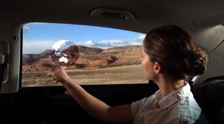 General Motors expérimente la réalité augmentée sur les pare-brises et fenêtres