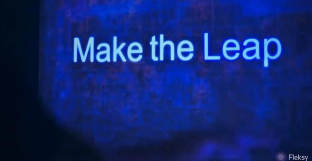 Leap Motion Fleksy permet la saisie sur un clavier invisible