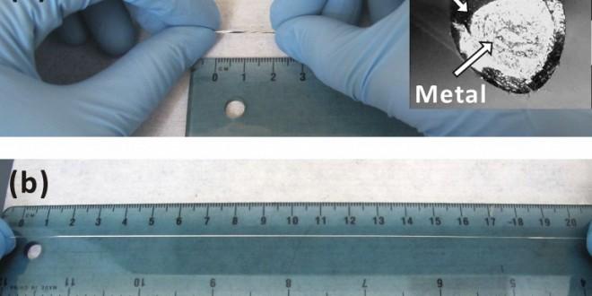 Des fils électriques pouvant s'étirés sans se rompre