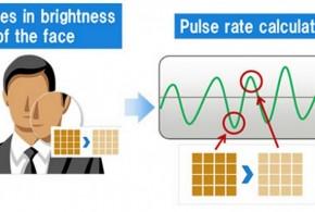 Fujitsu utilise l'imagerie faciale pour mesurer le pouls