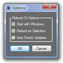 Redémarrez d'un Windows à un autre facilement