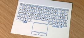 Le clavier d'ordinateur le plus fin au monde