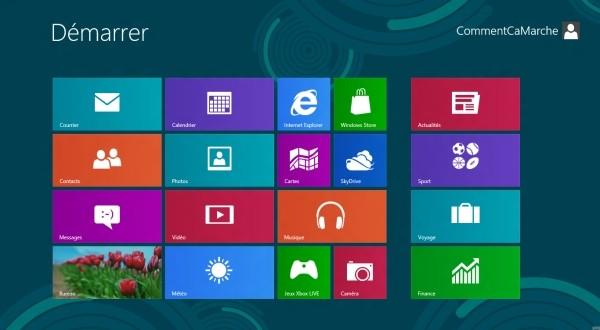 Déplacer les applications metro de Windows 8 sur un autre disque