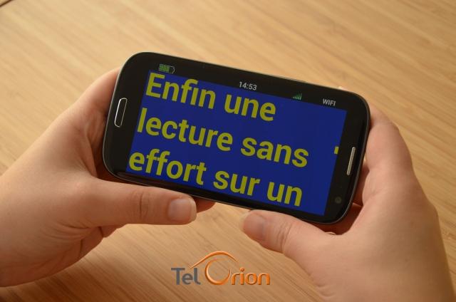 Le premier Smartphone français pour aveugles et malvoyants