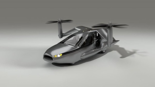 La première voiture volante au monde