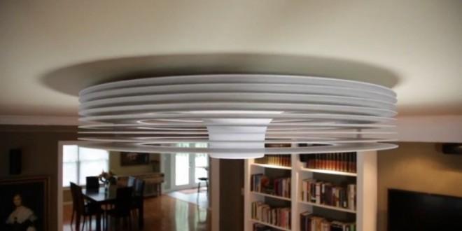 Un Ventilateur De Plafond 224 Vortex Et Sans Ailettes Tech