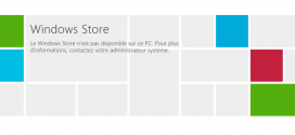 Comment désactiver Windows Store dans Windows 8