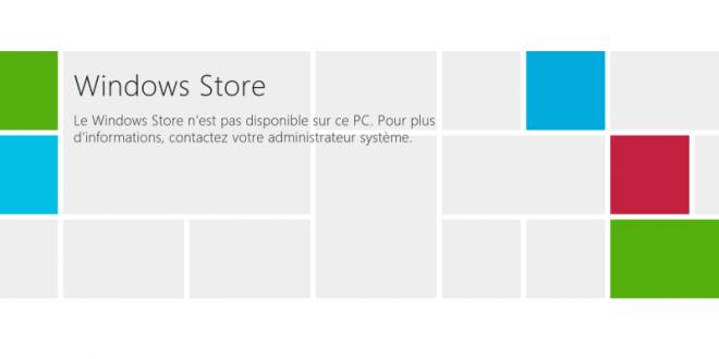 Comment désactiver Windows Store dans Windows 8