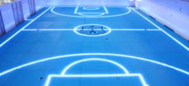 GlassFloor remplace les lignes peintes avec des LED