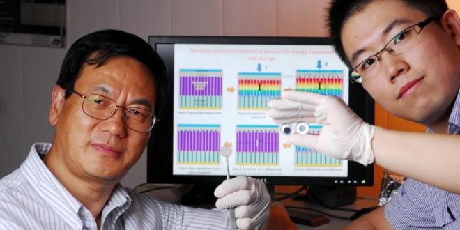 Une cellule hybride qui produit et stocke de l'énergie