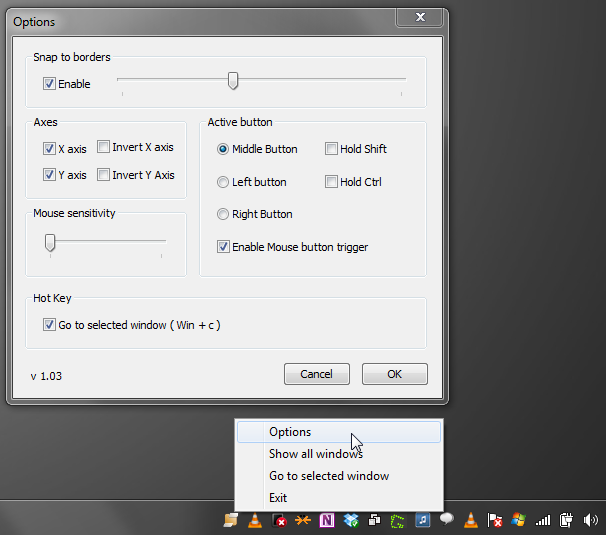desktop slider
