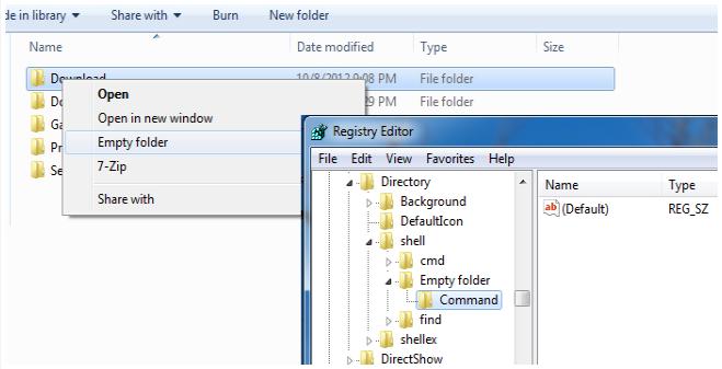 Comment supprimer rapidement tout le contenu d'un dossier sur Windows