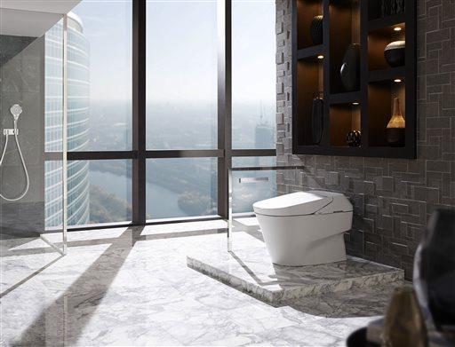 Les toilettes High-Tech du futur