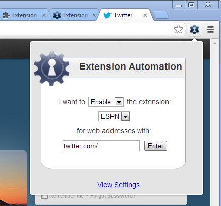 Activer ou désactiver des extensions sur Chrome sur des sites spécifiques