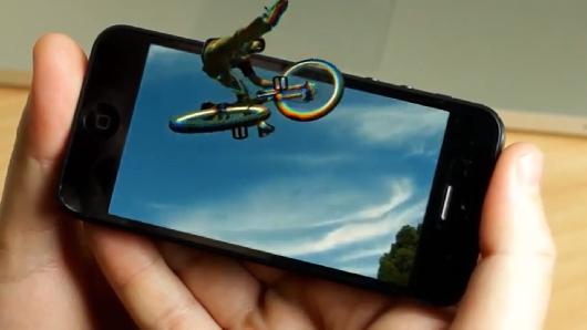 EyeFly ajoute la 3D à votre smartphone