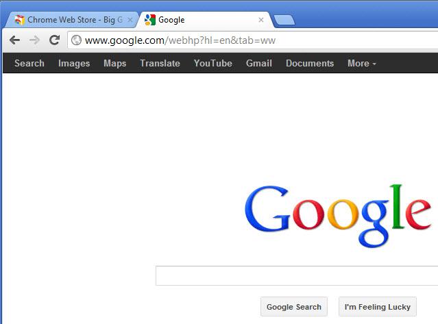 Personnaliser les liens sur la barre d'outils de Google