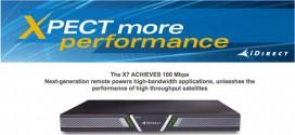 iDirect dévoile un nouveau routeur qui peut atteindre 100 Mbps
