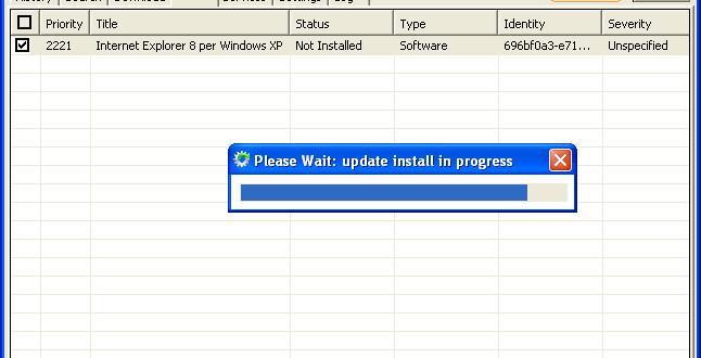 Mettre à jour plusieurs PC Windows en mode hors connexion