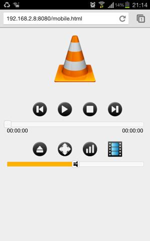 Contrôler le lecteur VLC à distance