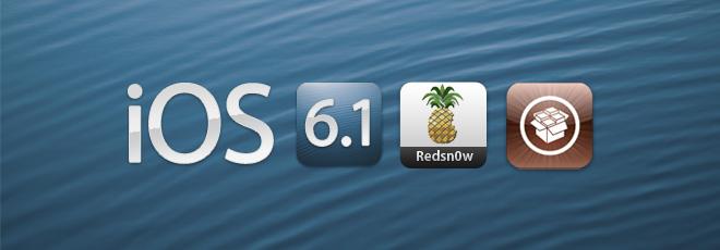 Jailbreak de l'iOS 6.1 sur iPhone 4, iPhone 3GS et iPod touch 4G avec Redsn0w