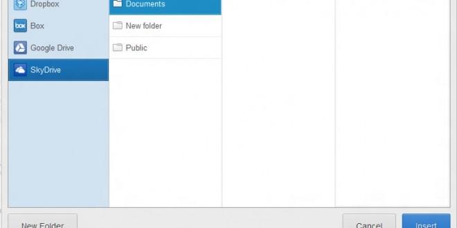 Intégrer SkyDrive dans Gmail pour envoyer des fichiers