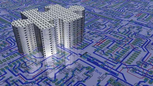 Les scientifiques créent la première micro-puce 3D