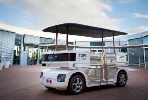 NTU teste le premier véhicule sans conducteur à Singapour