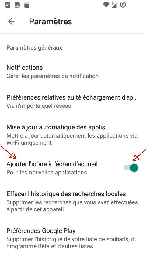 Fonctionnalités cachées sur Android