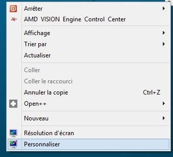 Activer l'effet de transparence Aero sur Windows 8 et 8.1
