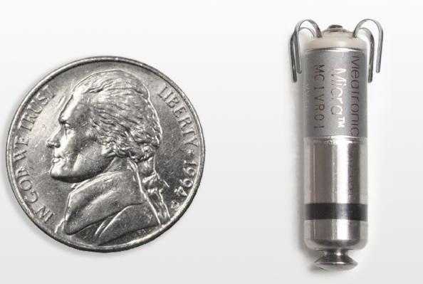 Le plus petit pacemaker au monde