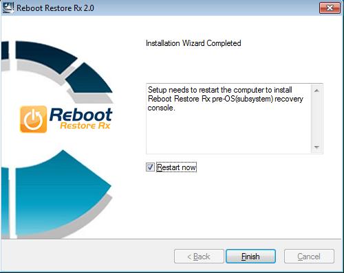 Restaurer votre système de Windows automatiquement au démarrage