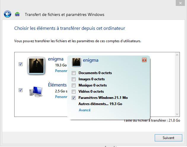 Installer Windows sans perdre de documents, paramètres et modifications