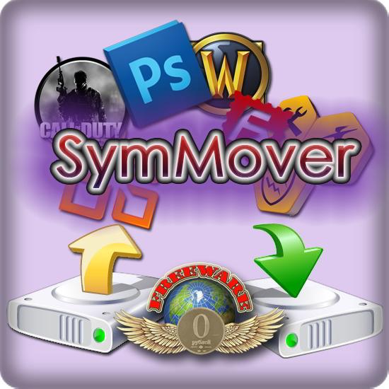 SymMover : Déplacer des programmes installés dans d'autres dossiers et disques sans réinstallation