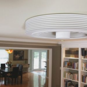 Le premier ventilateur de plafond à vortex et sans hélices