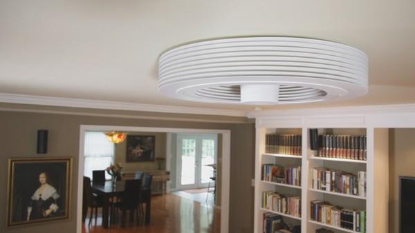 Le ventilateur de plafond à vortex